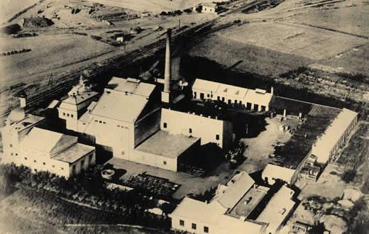 Slika od pivara skopje 1920