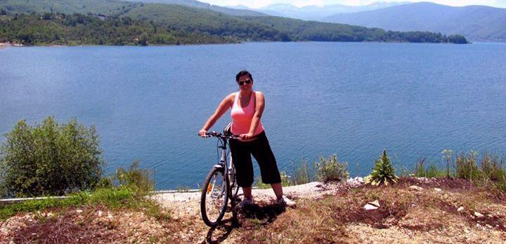 vozenje velosiped okolu mavrovsko ezero