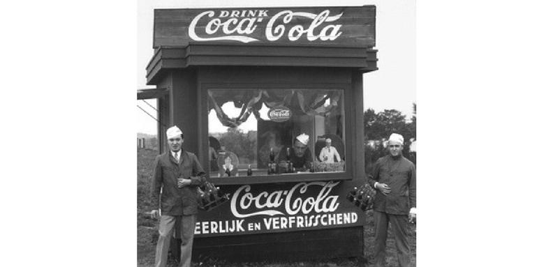 coca-cola kiosk vo amsterdam
