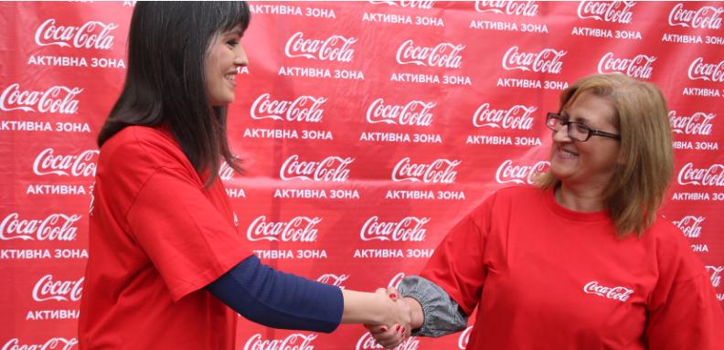 otvoranje na coca cola aktivna zona vo makedonska kamenica