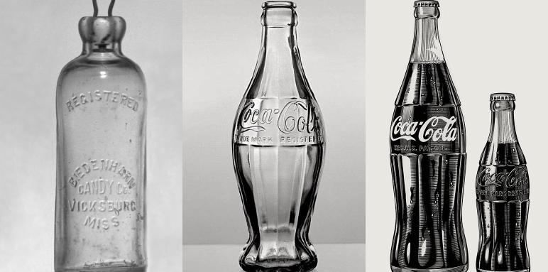 coca cola bottle history