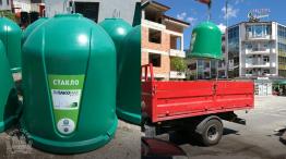 Pakomak kontejneri za recikliranje na staklo