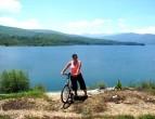 velosiped okolu mavrovsko ezero